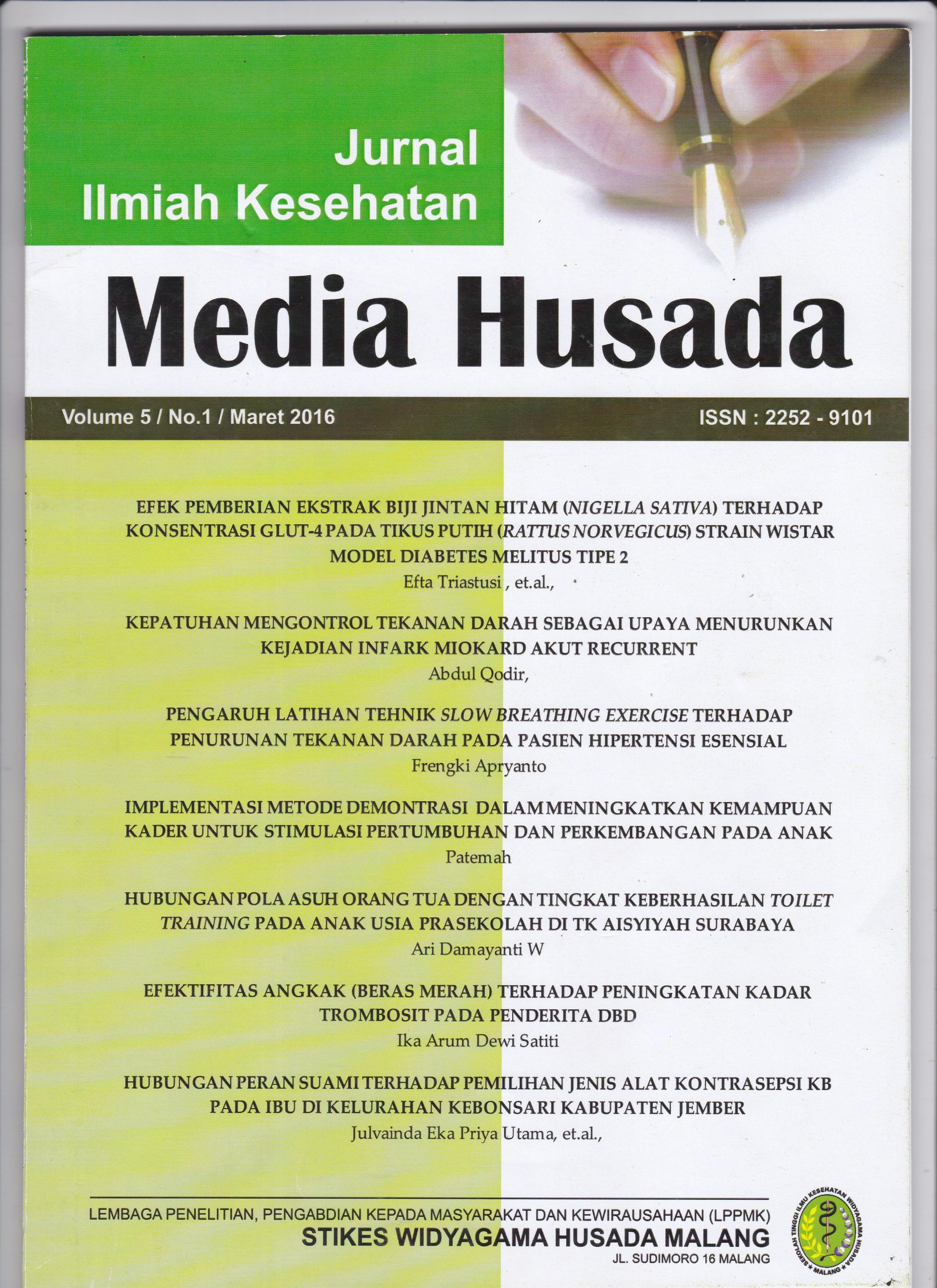Volume 5.1 Maret 2016